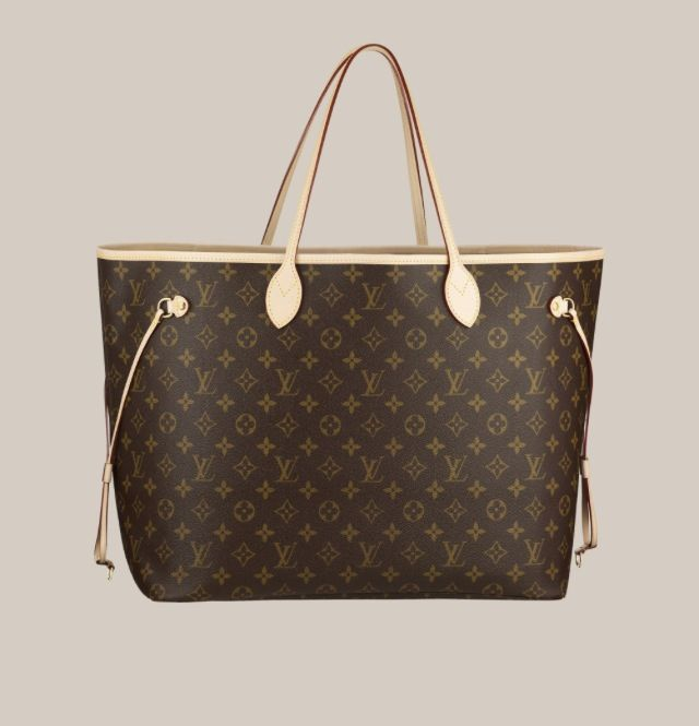 70d5da93ed65 Louis Vuitton Neverfull GM - the most useful purse I ve ever owned.  Classic