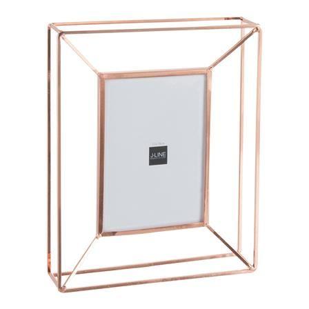 Nicole Large Metal Photo Frame, Copper …   Pinteres…