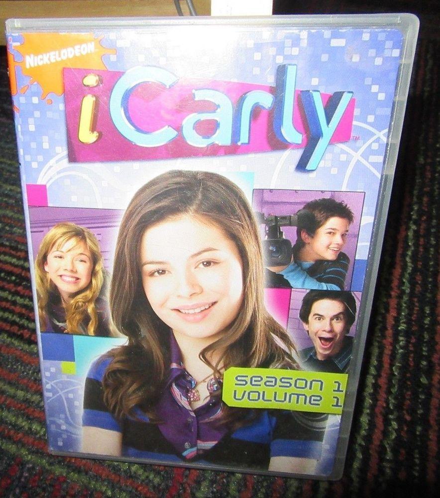 ICARLY: SEASON 1 VOLUME 1 2-DISC DVD SET, ALL 13 EPISODES