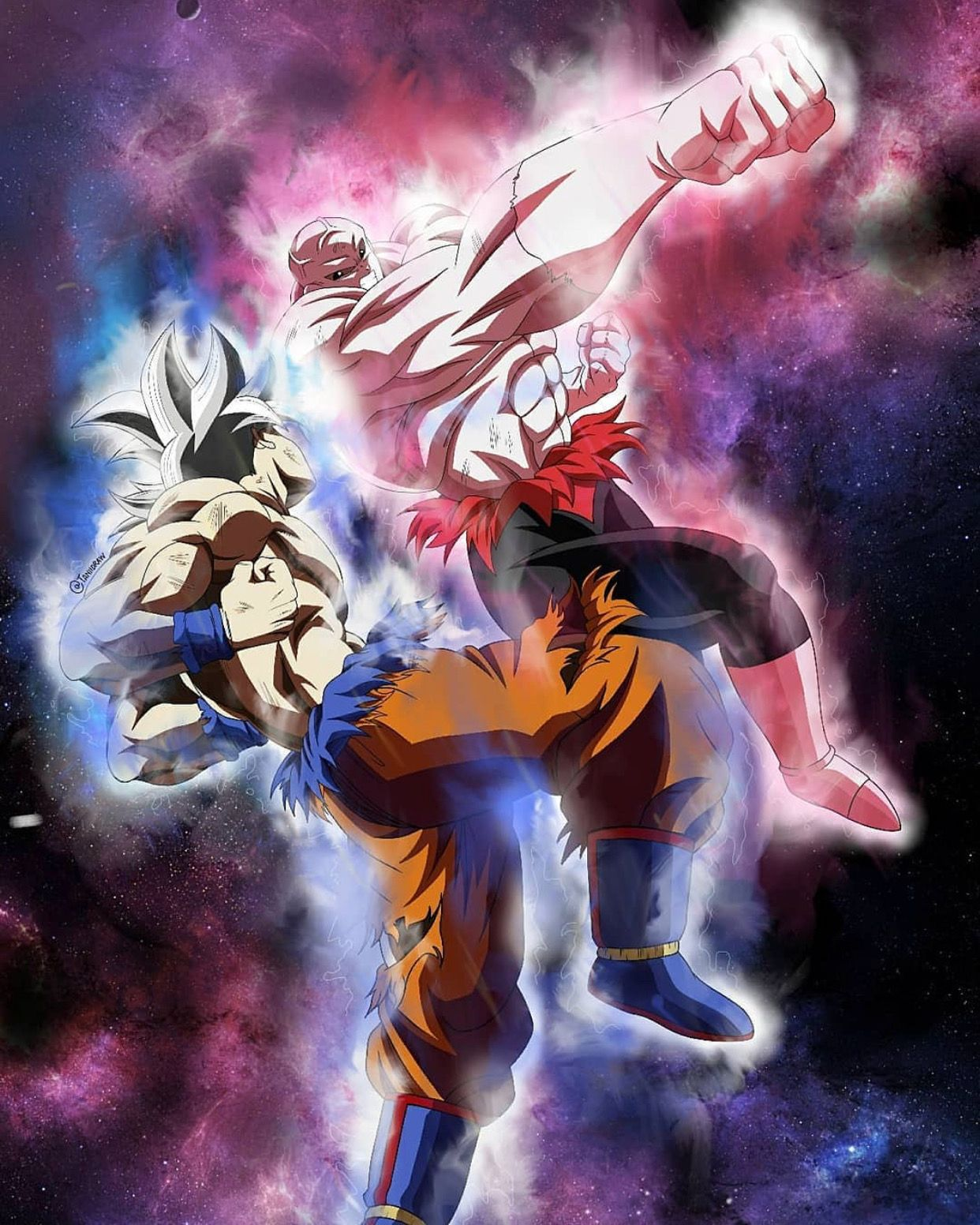 Goku Vs Jiren Doctrina Egoista By Lucario Strike Goku Vs Jiren Dragon Ball Artwork Goku Vs