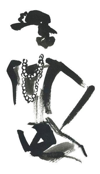 Coco Chanel By Miyuki Ohashi Like Pinterest Moda