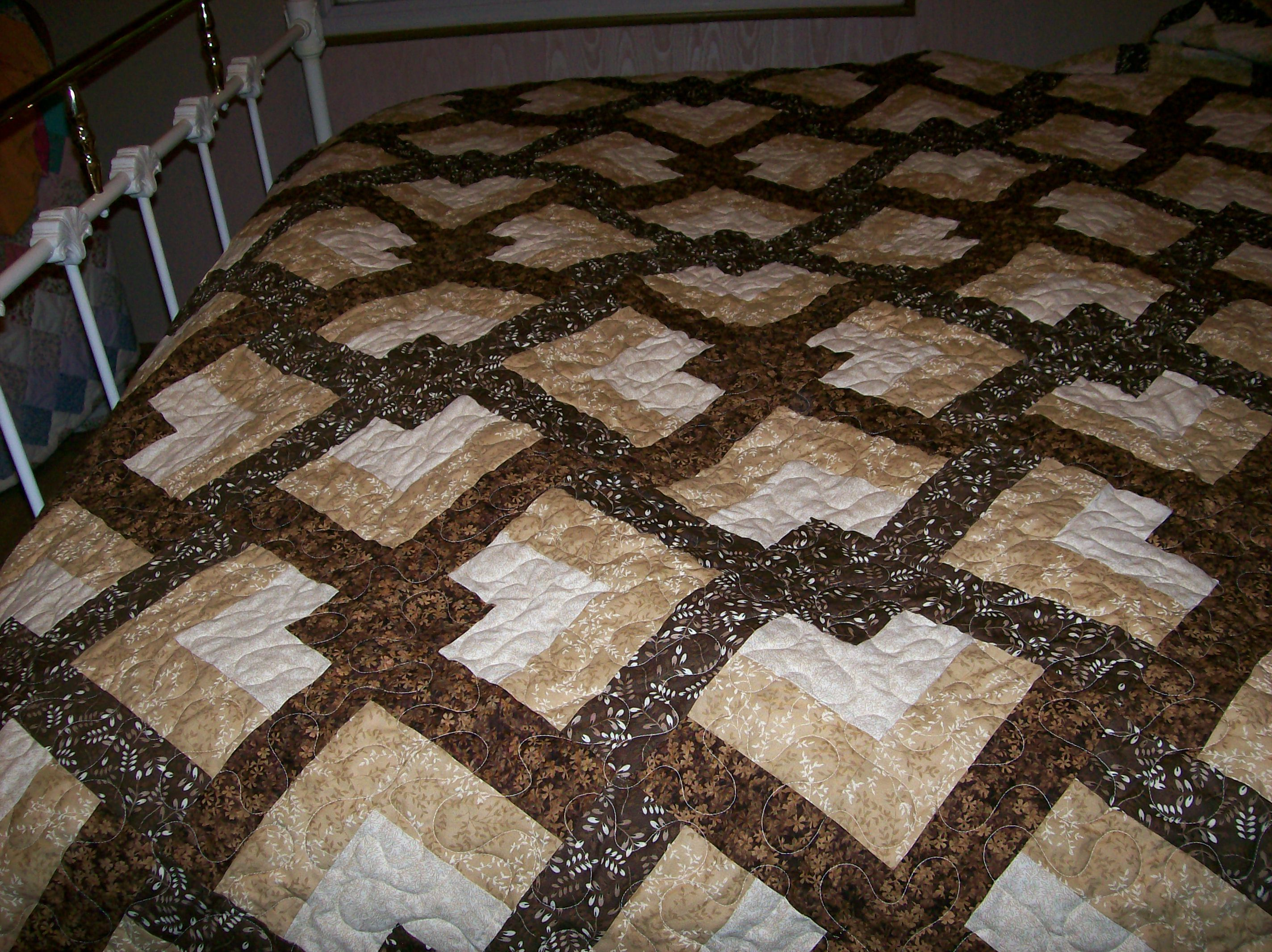 Eleanor Burns Quilt In A Day Quot Lovers Knot Quot Amish Quilt
