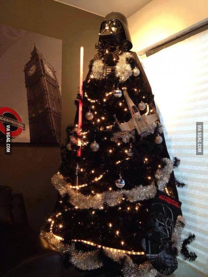 X-MARTIAL ARTS (With images) | Darth vader christmas tree ...