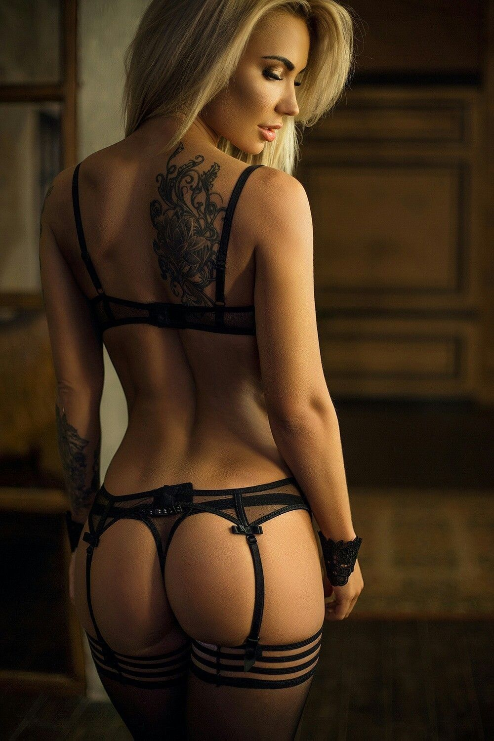 Something Hot lingerie butt talented