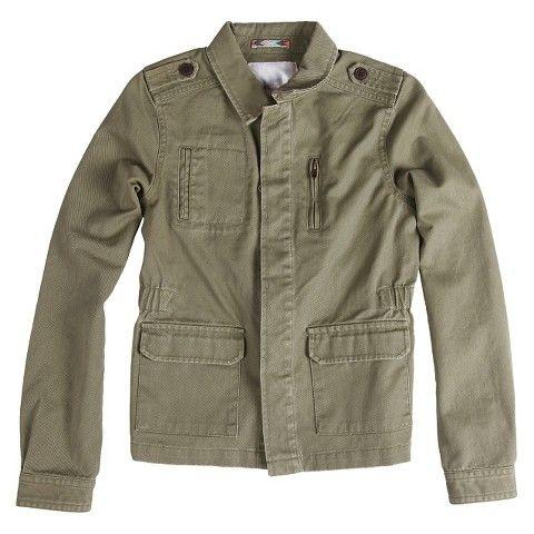 Girls' Fashion Jacket Green - Xhilaration™
