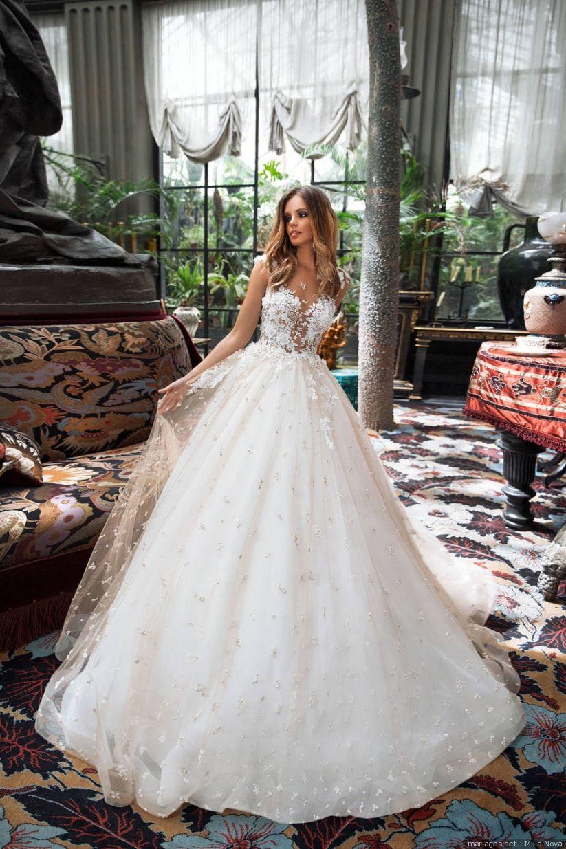 Milla nova collections de robes de mariée particulièrement