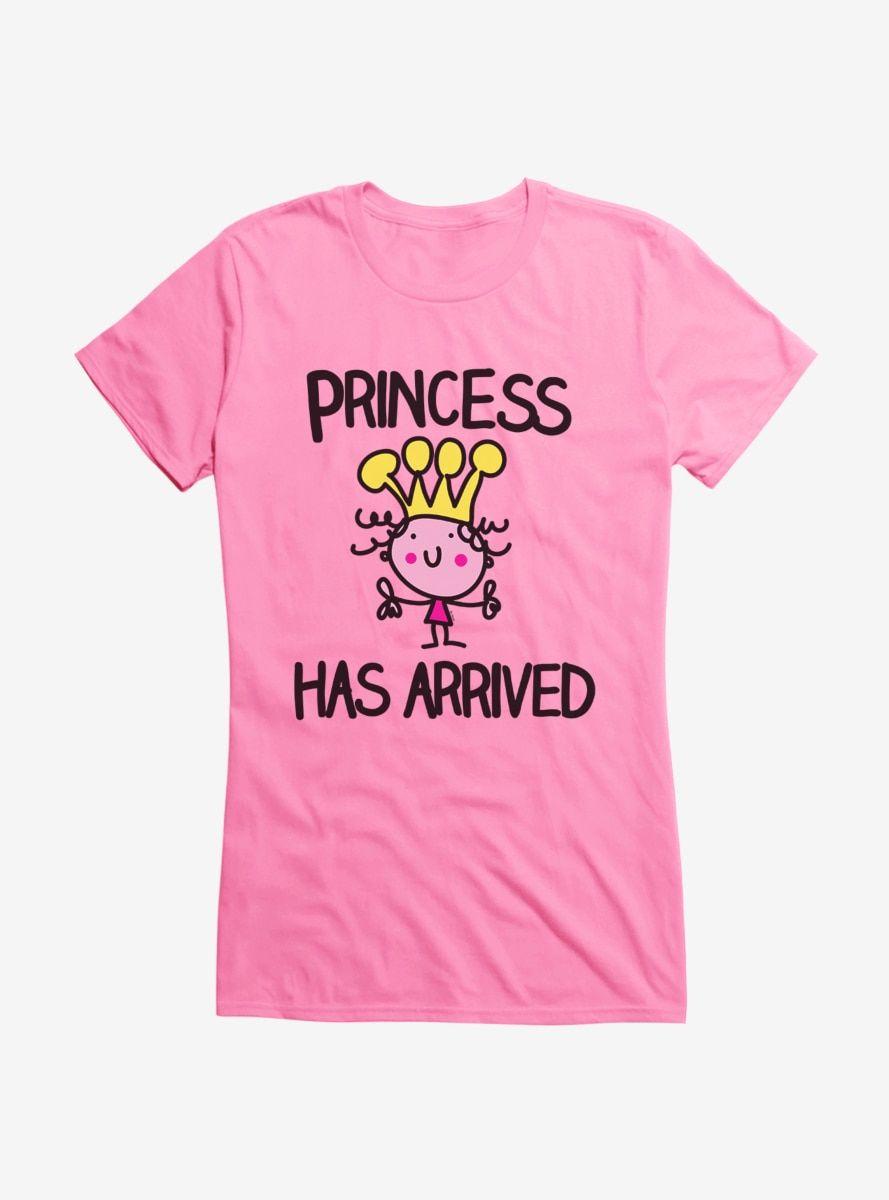 iCreate Princess Has Arrived Girls T-Shirt