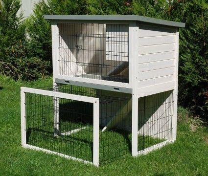 Cage Clapier Lapin La Vie Dehors Bunny Hutch Bunny Et