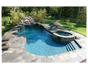 Laps Of Luxury Saltwater Pool Pool Patio Backyard Pool