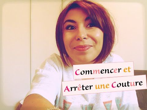 Tuto couture 5- Coudre des arcs - YouTube