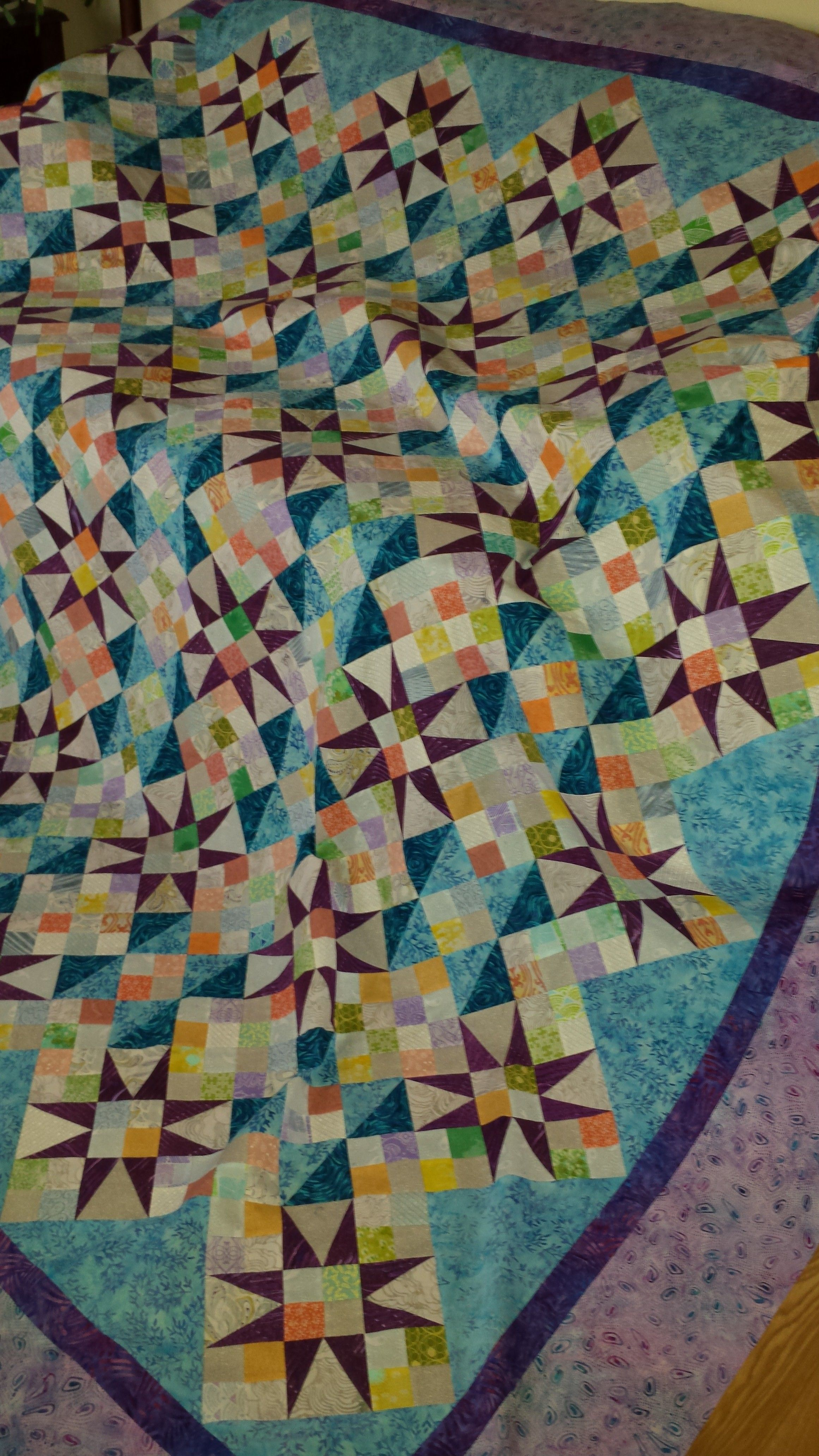 Cathedral Stars Quilt Pattern : cathedral, stars, quilt, pattern, Cathedral, Stars, Quilts,, Batik, Quilts