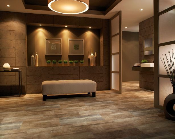 linoleum wood flooring looks like wood yet durable enough for