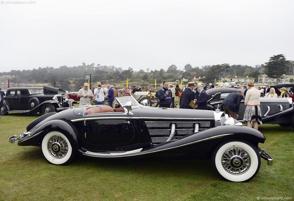 Image result for 1936 mercedes-benz 540k history