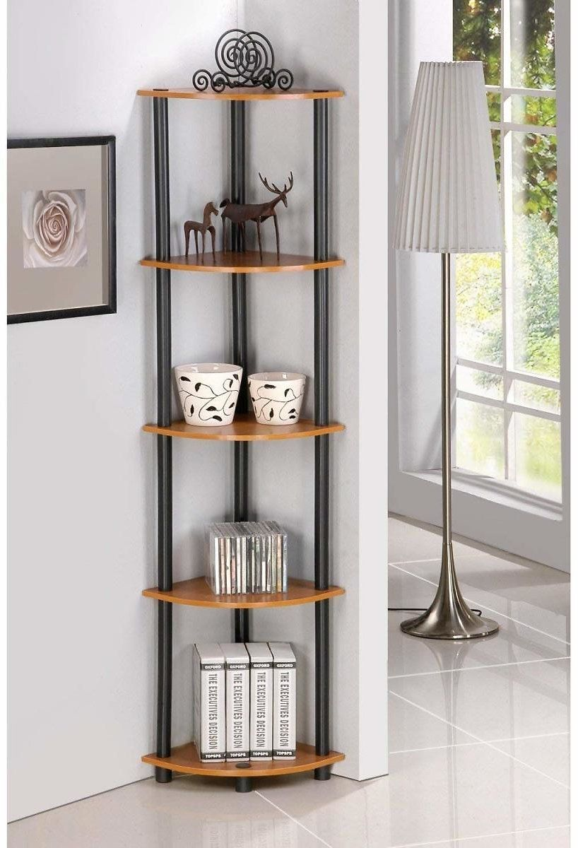 Amazon Furinno 5 Tier Corner Shelf For 25 52 Reg 5