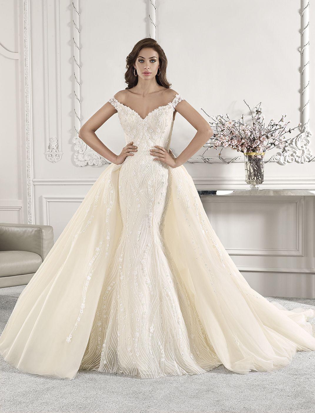 Fit n Flare Wedding dresses, Demetrios wedding dress