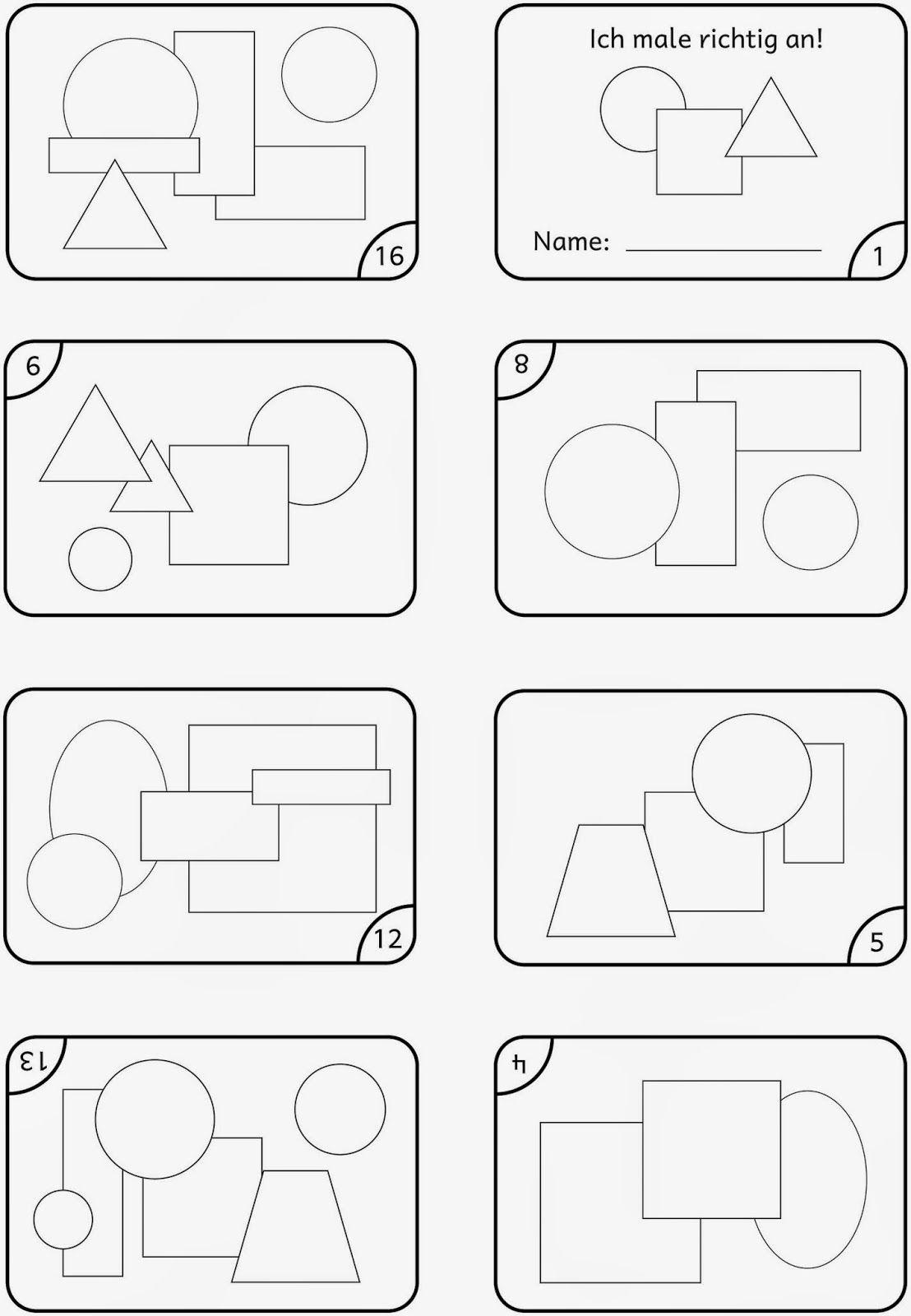 ich male richtig an jjj pinterest mathe lernen und vorschule. Black Bedroom Furniture Sets. Home Design Ideas