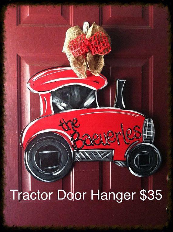 Tractor Door Hanger