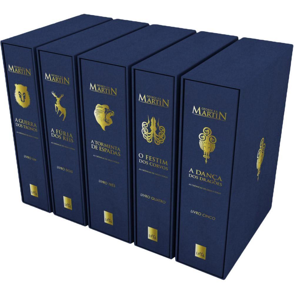 Foto 1 Livro Box As Cronicas De Gelo E Fogo Edicao Luxo