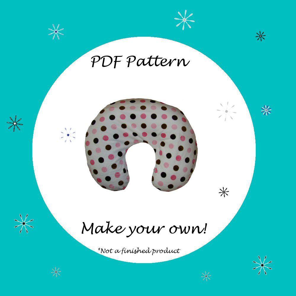 Nursing Pillow Cover for Boppy Pattern-PDF Pattern-Ebook Pattern. $6.50 via