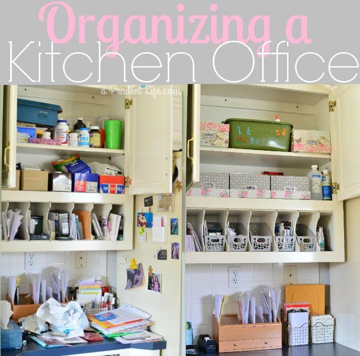 Kitchen Office Nook Plans: Kitchen Office Nook Organization