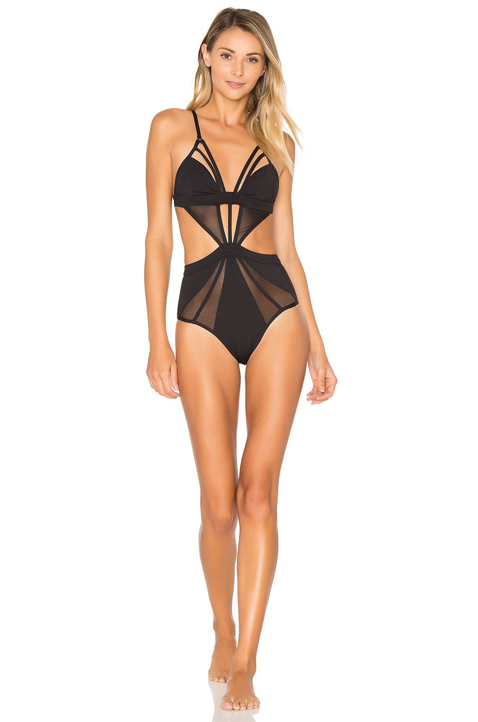 9d95e8e453 KOPPER & ZINK Harper One Piece in Black | REVOLVE | Wear This | One ...