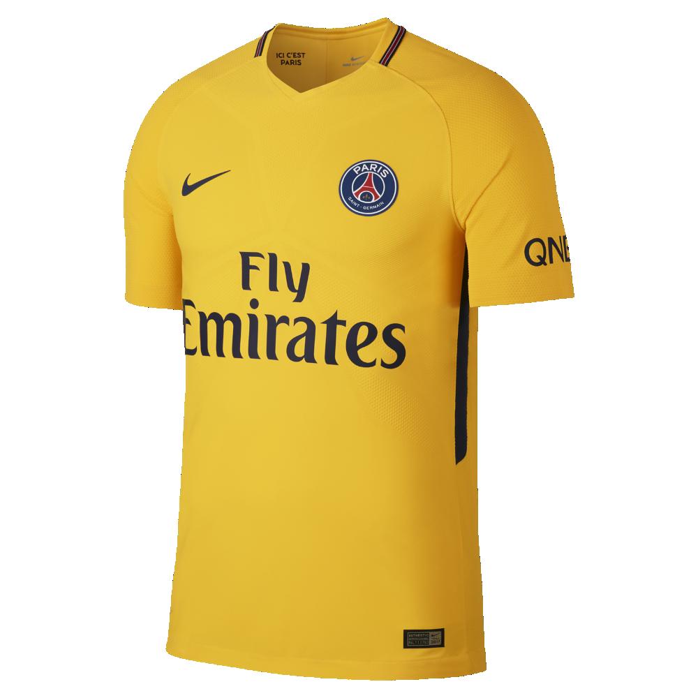 Nike 2017 18 Paris Saint-Germain Vapor Match Away Men s Soccer Jersey Size 21795e55d