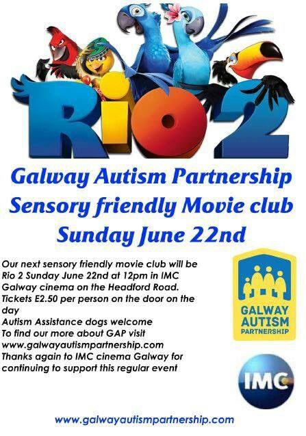 June 2014 Movie club #autism