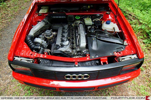 Audi Sport Quattro Engine Bay Photo By Fourtitude Com Audi
