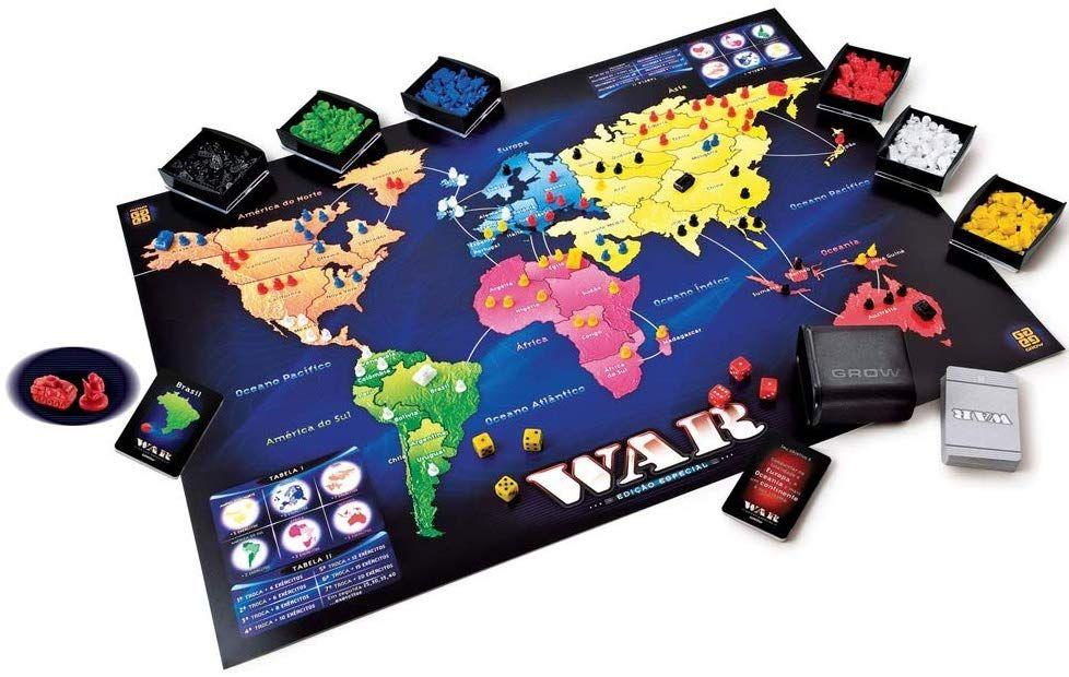 War Edicao Especial Grow Jogos De Estrategia Jogos Jogos De Tabuleiro