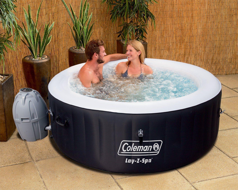 AmazonSmile Coleman LayZSpa Inflatable Hot Tub + 6