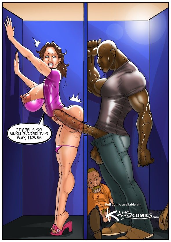 Art cartoon comic interracial