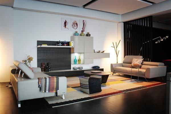 The ASTORIA Sofa Designed By Sacha Lakic On Display In The Roche Bobois Showroom In Jakarta. Dewimagazine News #SachaLakic #R… | Sofa Design, Design, Grand Designs