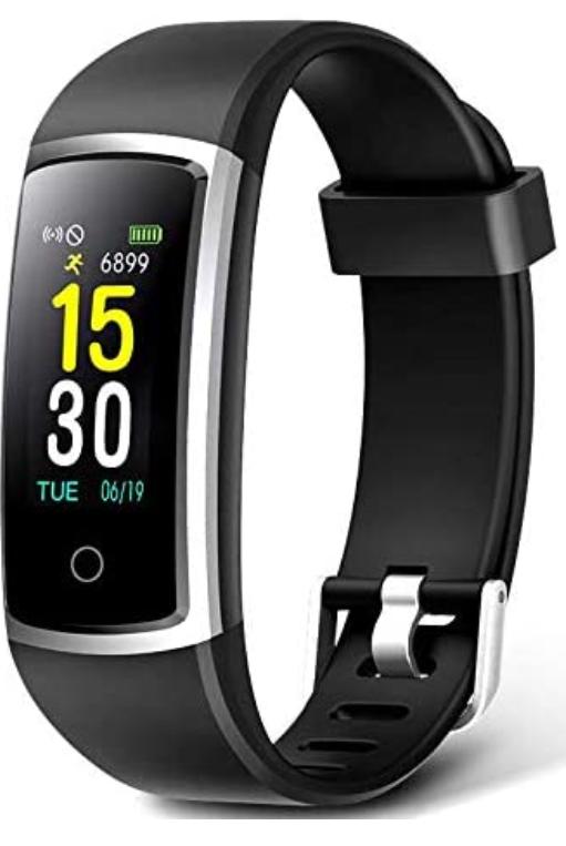 Fitness Tracker Wasserdicht IP68 Fitness Uhr CHEREEKI Fitness Armband Blau