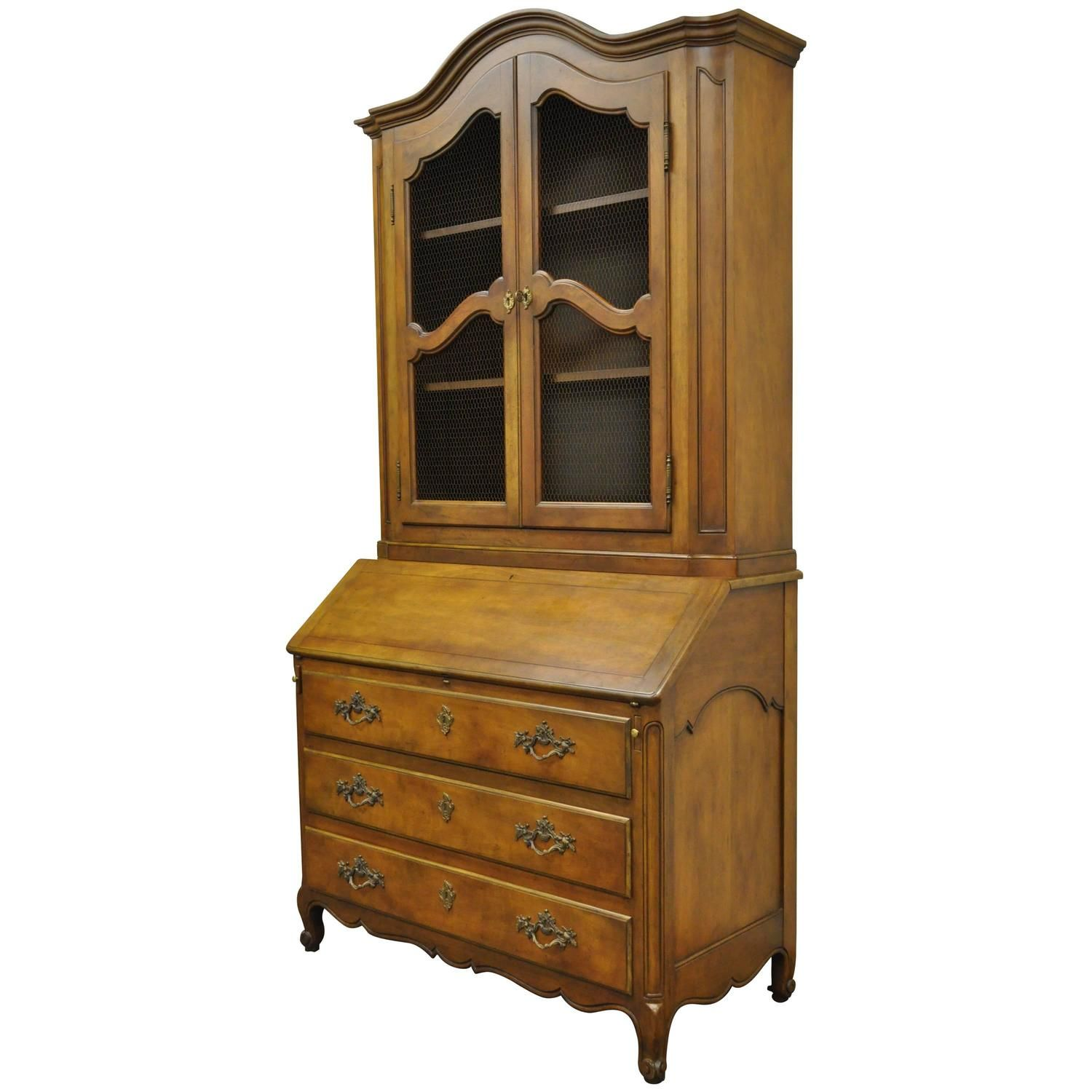 7500 20th Century Baker Furniture Country French Style Secretary Desk or  Bookcase | From a - 20th Century Baker Furniture Country French Style Secretary Desk Or