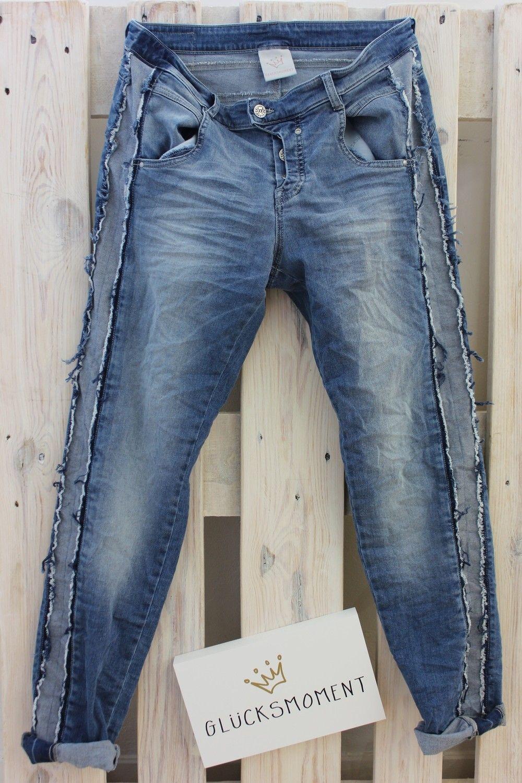 Gloria #Glücksmoment Jeans fransen jeans FS 19 | Jeans