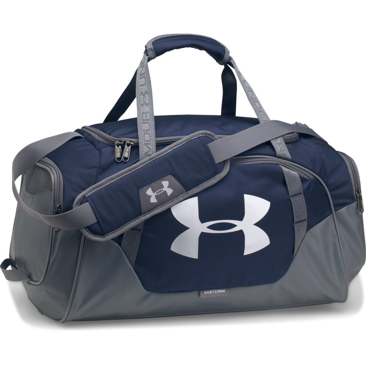 Under Armour Midnight Navy Graphite UA Undeniable 3.0 Small Duffel ... 827e276a64