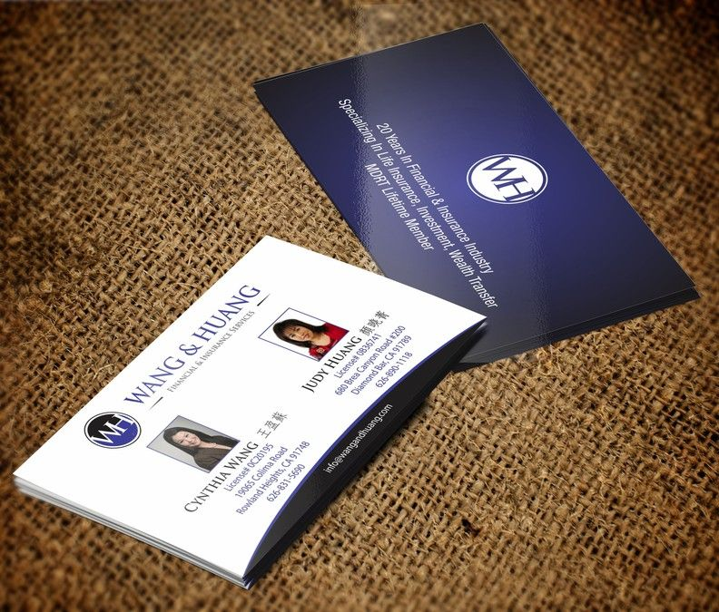freelance Create Business Card for 2 Persons Name | Business Card ...