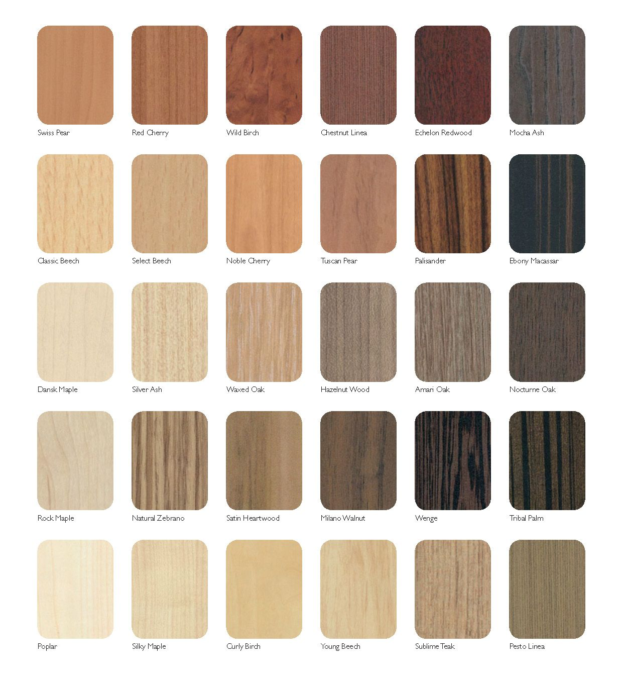 Available Colours For Melamine Boards Melamine Colours Modern Kitchen Interiors