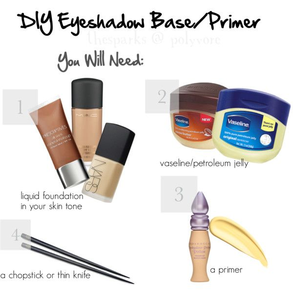 DIY Eyeshadow Base/Primer; Part One!, created by thesparks on ...