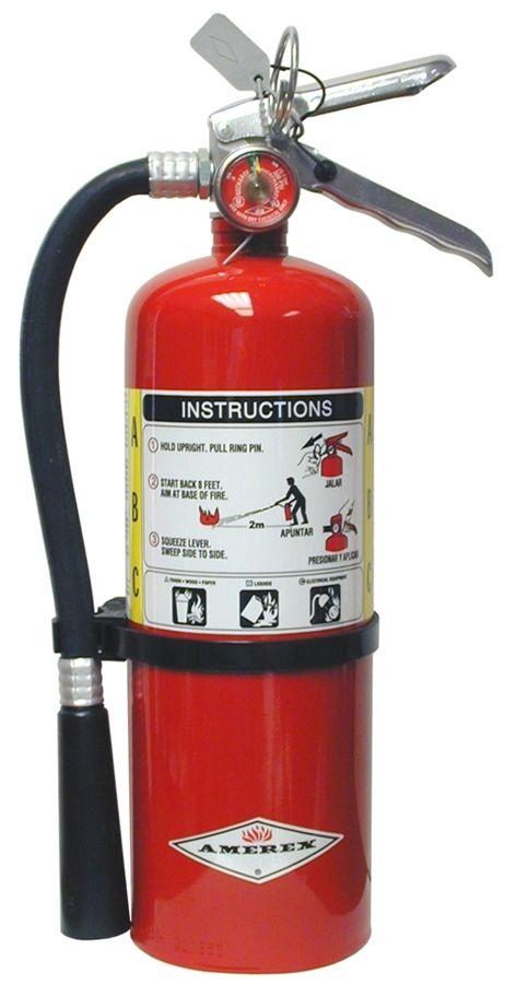 Triangle Fire Inc Fire Extinguishers Amerex B500 Abc Multi Purpose Stored Pressure Dry Chemical Extingu Fire Extinguisher Extinguisher Fire Extinguishers