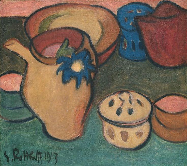 Still Life, 1913 - Karl Schmidt-Rottluff (1884–1976)