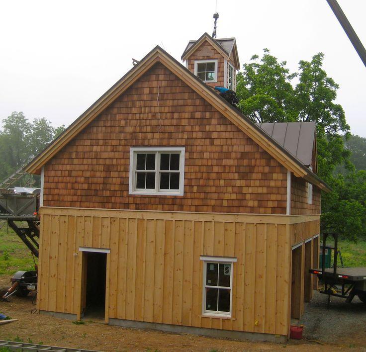 Board And Batten To Cedar Shakes E Lake House Pinterest Craftsman Home Exterior Shingle Exterior House Siding