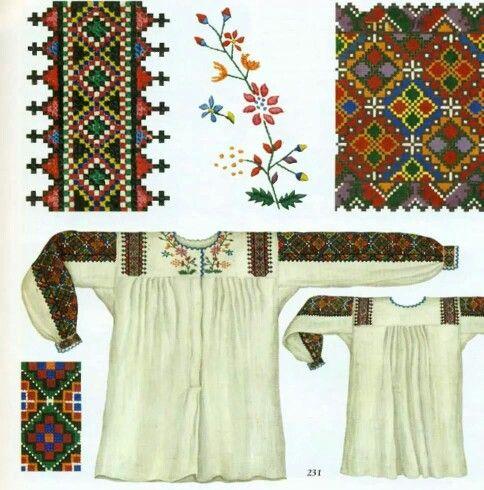 Shirt design | Схеми вишиванок | Pinterest | Croacia, Bordado y ...