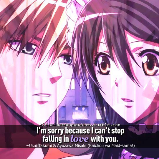 The source of Anime & Manga quotes | Maid-sama | Pinterest | Maid ...