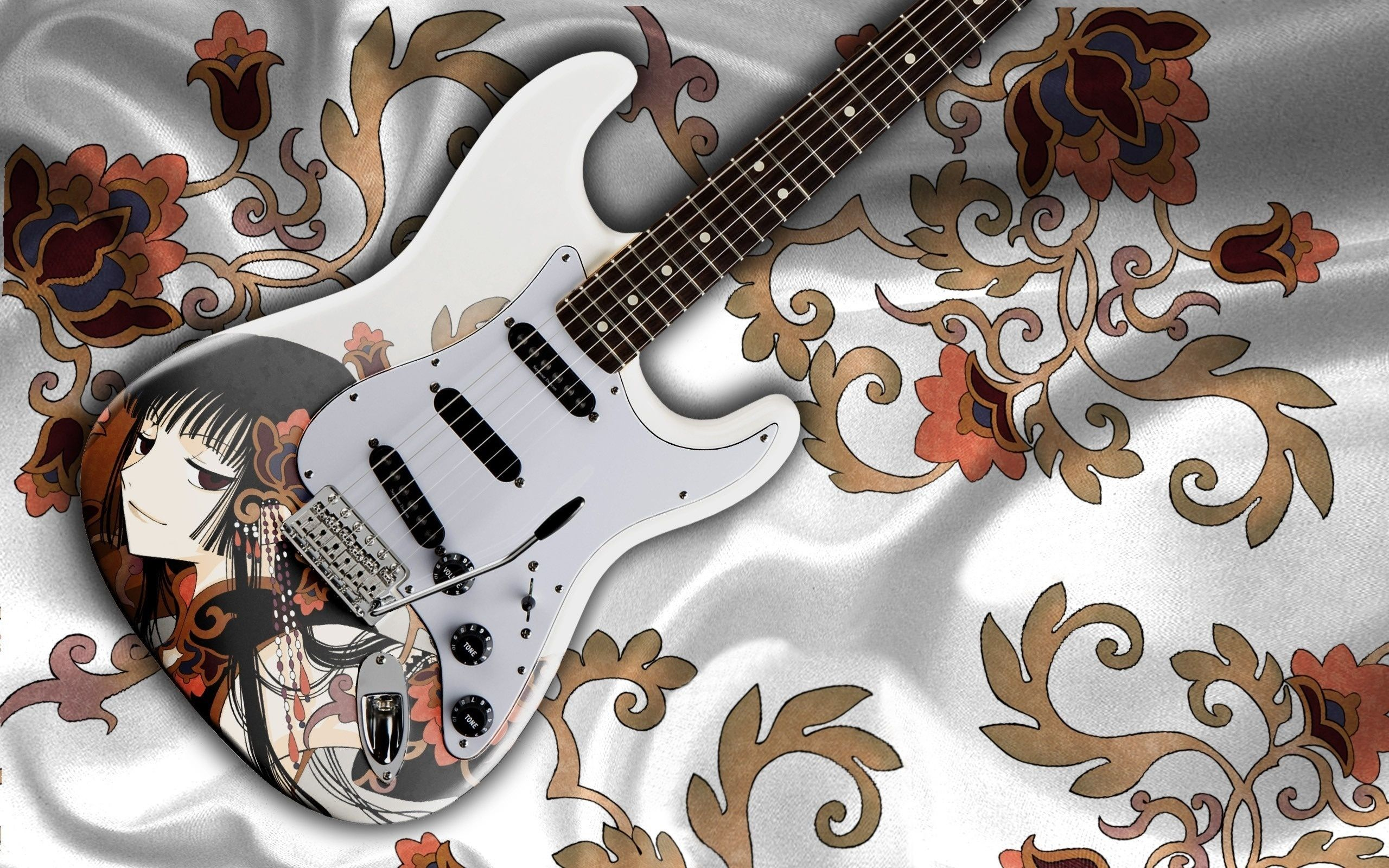 find out stylish guitar wallpaper on