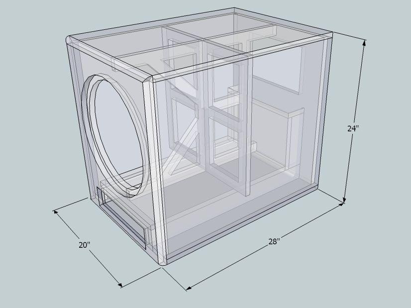 Ported15 Skp Jpg 826 X 619 95 Subwoofer Box Design Subwoofer Box Box Design