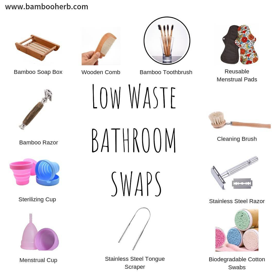here are a few options for zerowaste washroom supplies