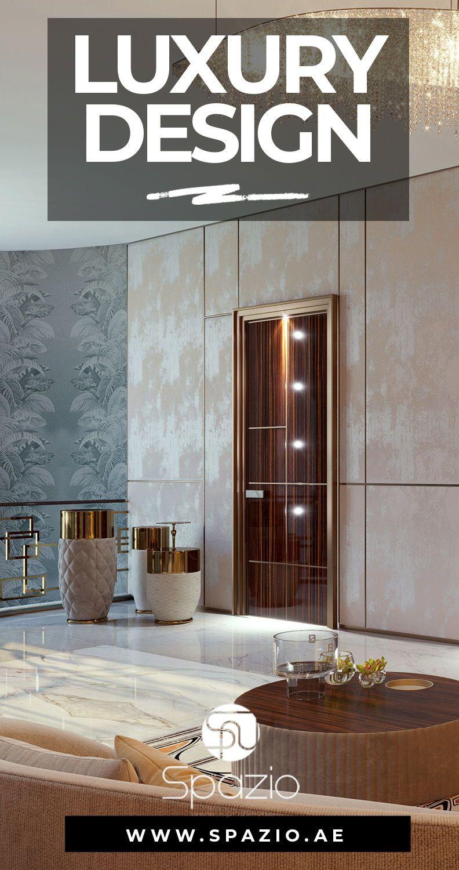 Bespoke High End Interior Design In Dubai Luxury Homes Interior Interior Design Companies Contemporary Interior Design