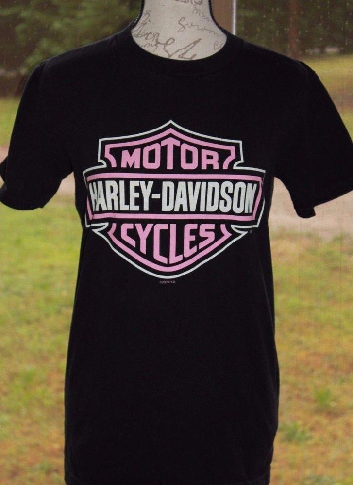 Harley Davidson Motorcycles Shirt S Boswell's Music City Nashville