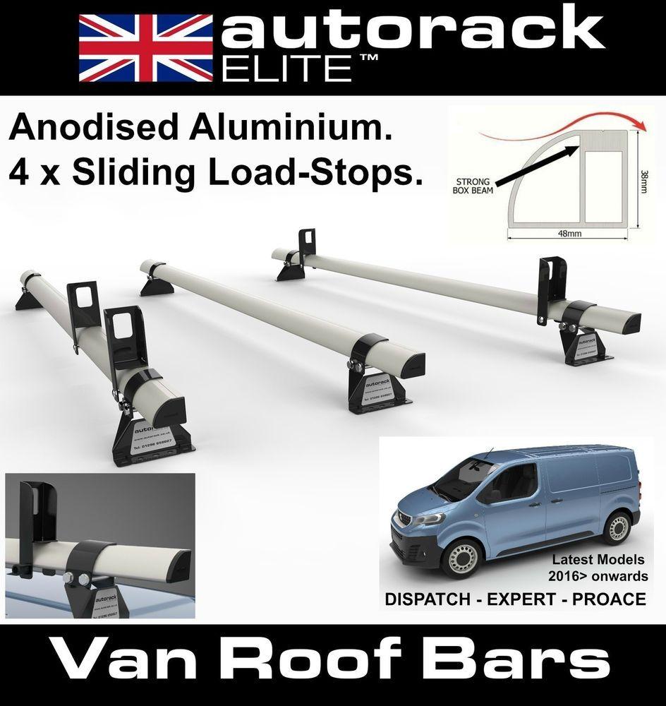Autorack ELITE Aluminium Roof Rack 3 Bars CITROEN DISPATCH
